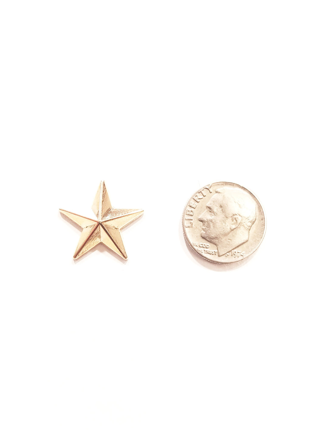 Super Star Gold Lapel Pin