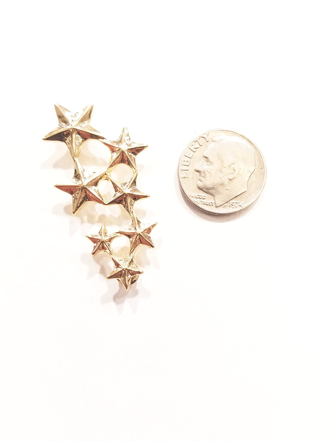 All Star Gold Lapel Pin