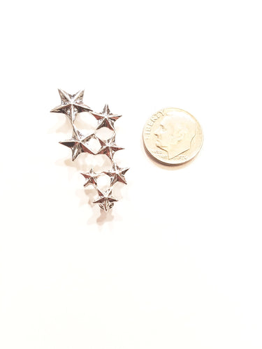 All Star Silver Lapel Pin