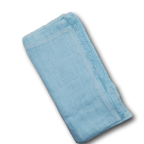 Sky Blue Kingmaker Pocket Square
