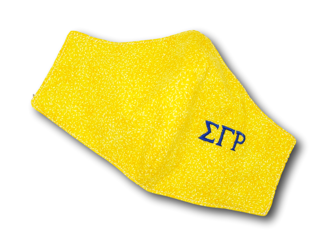 Sigma Gamma Rho Face Mask