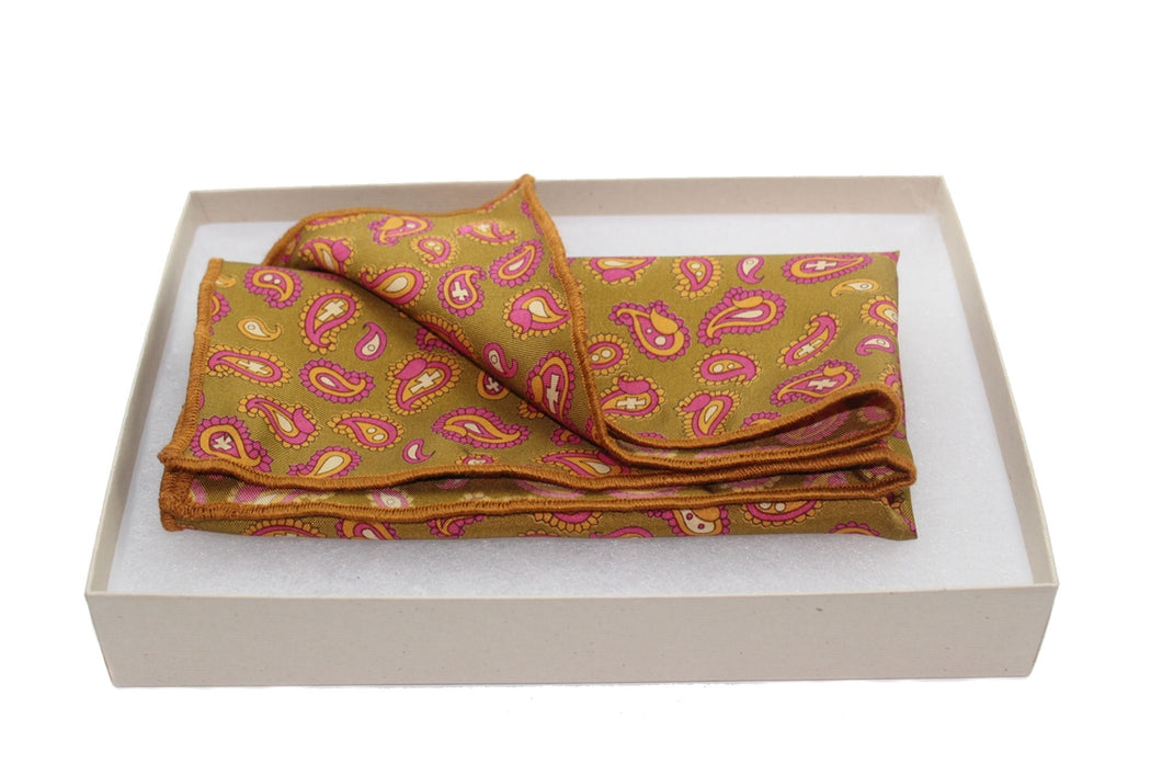 The Hill Silk Pocket Square
