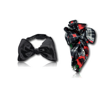 The Silk Velvet Bow Tie Set - 2