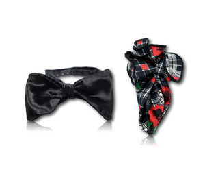 The Silk Butterfly Bow Tie Set - 1