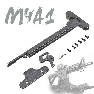 Metal Mags Release and Charging Handle For Toys Jinming M4 Gen8 M4A1 Gel Ball Blasting