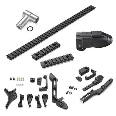 Upgrade Black Metal Guide Kit For LeHui Vector Gel Ball Blasting Replacement Accessories