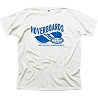 Retro TShirt,Back to the Future Hoverboard TShirt TShirt,McFly,DMC De Lorean