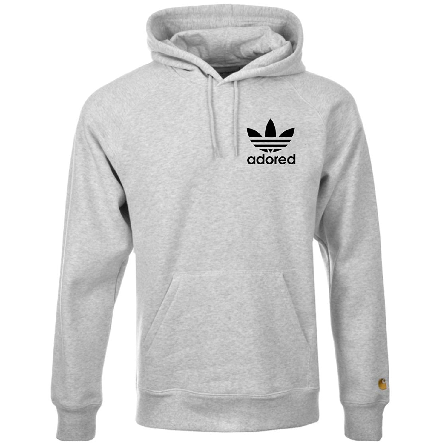 Stone Roses Adored Tribute Grey Hoodie