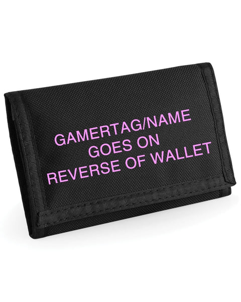 Eat Sleep Mine Ripper Wallet Gaming Wallet - Choice of FREE PERSONALISATION or FREE OFFICIAL MINECRAFT GIRLS MINECRAFT WALLET WRISTBAND GIRLS EAT SLEEP MINE WALLET