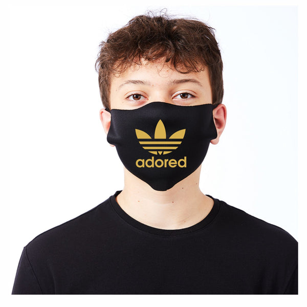 Stone Roses Adored Mask Face Covering - Covid-19 Coronavirus Protection