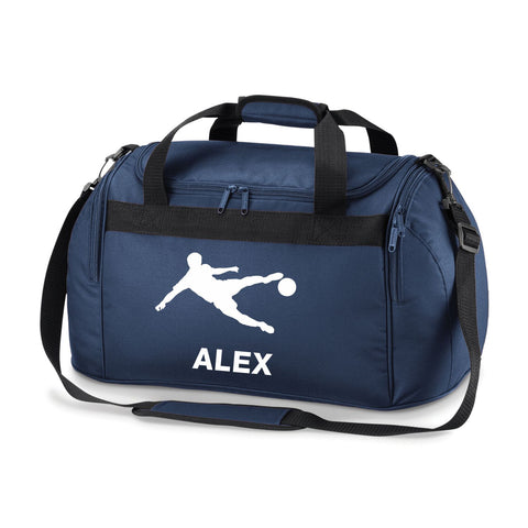 Roll over image to zoom in Football Holdall-Soccer Kit Bag. Comes in Either Black, Royal,Red or Navy Blue