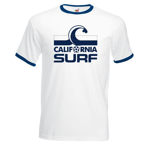 Z Retro California Surf Soccer Football Shirt NASL Member Team