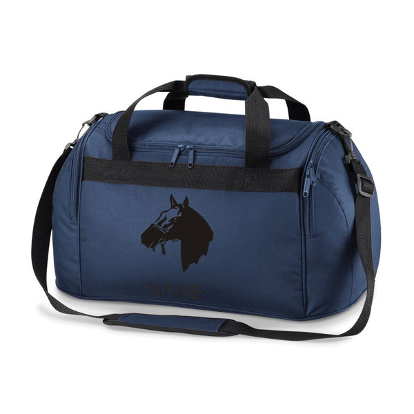 Gymkhana Equestrian Horse Riding Bag Holdall- Comes in Either Pink, Navy Blue or Royal Blue .Free Personalisation