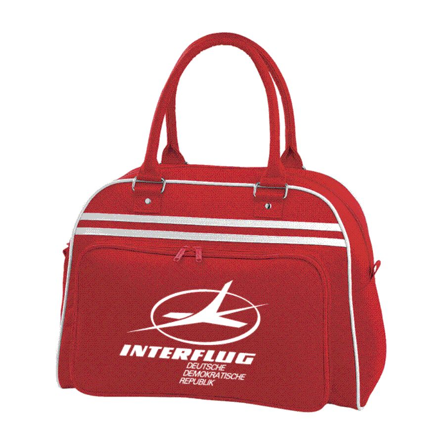 Retro Interflug Flight Bag,Gym,Sports Holdall, Pam Am,Bowling Bag,East Germany