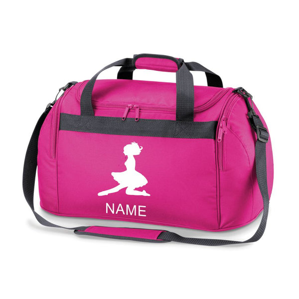 PERSONALISED PRINTED IRISH DANCING FEIS BAG GYM FESH HOLDALL GIRLS DANCE BAG