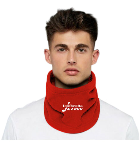 Lambretta Jet 200 Neck Cowl / Face Covering / Thermal Hat Combo £8.97 RED Inc FREE DELIVERY