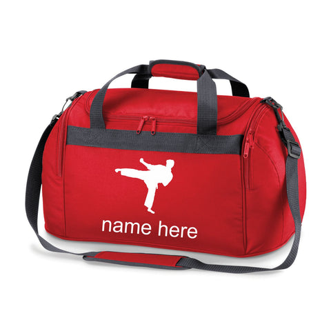 Judo Sports Bag Holdall- Comes in Either Red, Navy Blue or Black.Free Personalisation