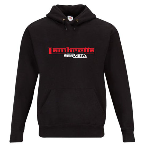 Lambretta Serveta Premium Quality Hoodie - Comes In Black, Grey or Navy FREE UK POSTAGE !!