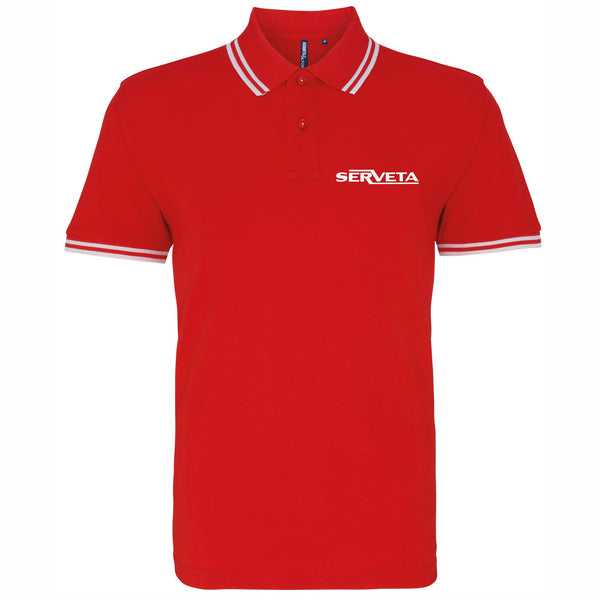 Lambretta Serveta Polo Shirt - Comes In 3 Colours - FREE UK POSTAGE