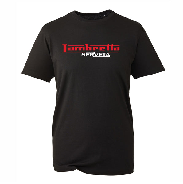 Lambretta T-Shirt - Premium Quality Comes In 3 Colours - FREE UK POSTAGE