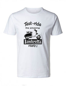 Retro Lambretta Test-Ride TShirt