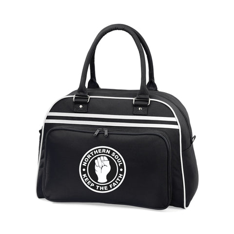 Northern Soul Keep The Faith Wigan Casino Bowling Bag