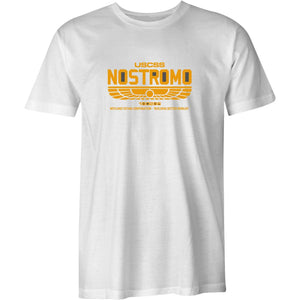 Nostromo 180286-Retro Mens T-Shirt Alien Film Movie USCSS Weyland-Yutani Aliens
