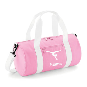 42c0b89b53 Gymnastics Holdall In 4 Different Colour Combinations and 2 Different  Gymnast Poses - Free Personalisation