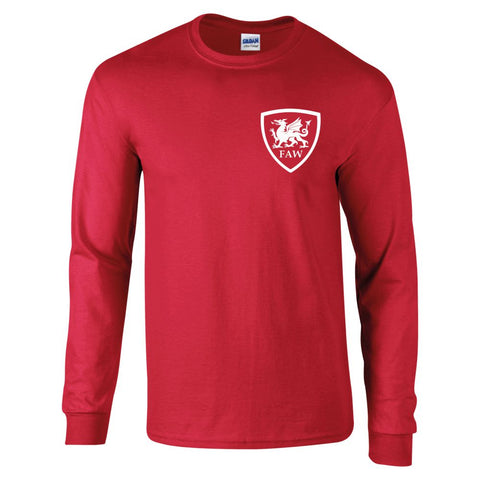 Z Retro Wales Long Sleeved Football Shirt