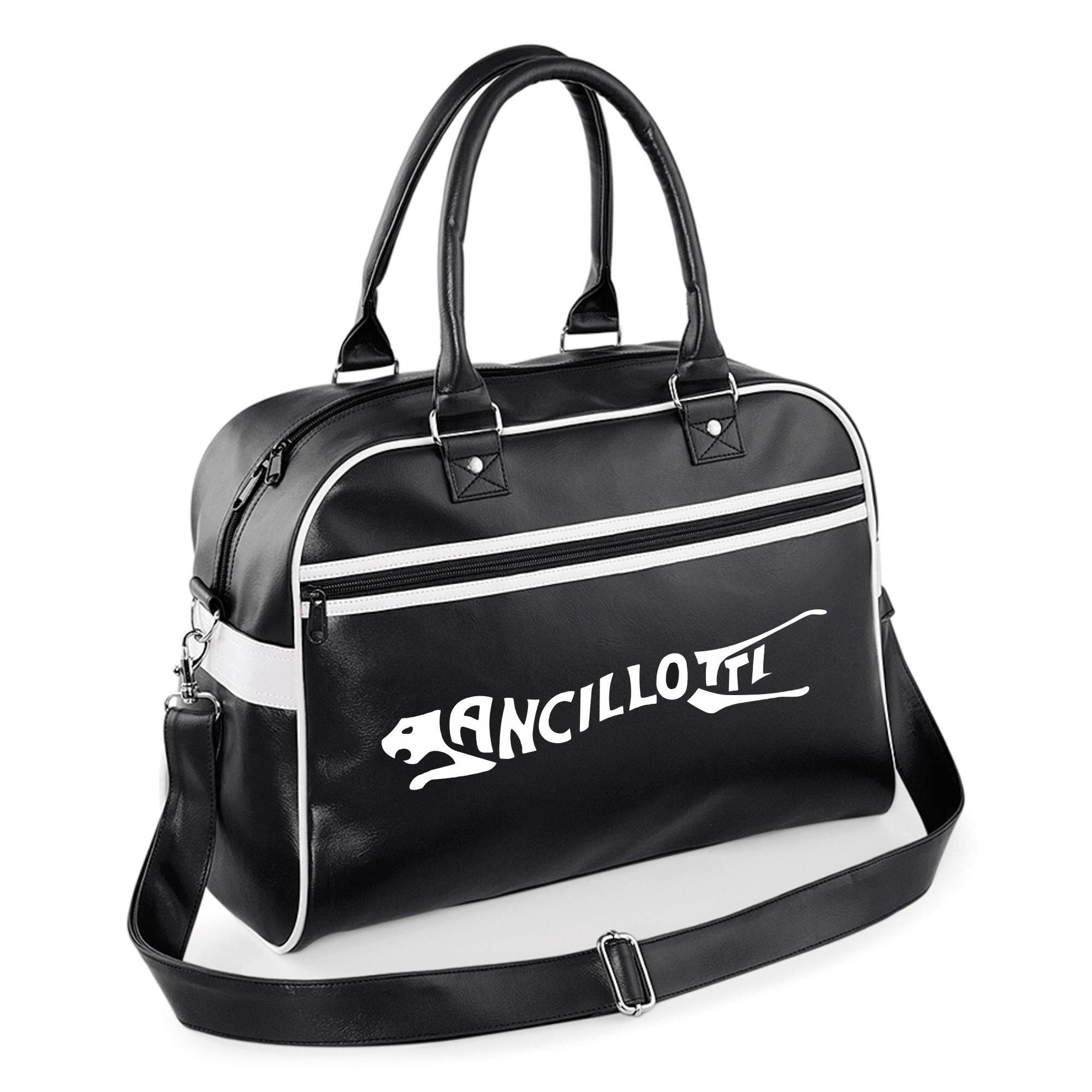 Ancillotti Bowling Bag - Comes In Navy/White & Black/White - FREE UK POSTAGE !!