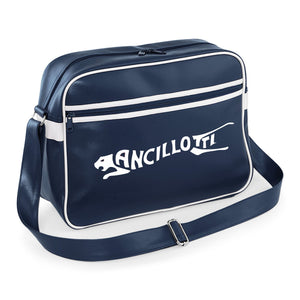 Ancillotti Shoulder Bag - Comes In Navy/White, Red/White or Black/White - FREE UK POSTAGE !!