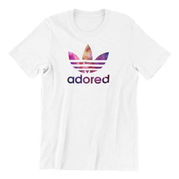 Stone Roses Adored Out of Space Logo T-Shirt