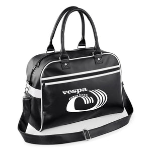Vespa Nuevo Linea Bowling Bag - Comes In Navy/White & Black/White - FREE UK POSTAGE !!