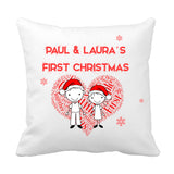 Our First Christmas Cushion - Fizzy Strawberry Gifts