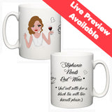 Personalised Face On A Mug (Mixed Race Skin) - Fizzy Strawberry Gifts