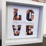 LOVE Photo Word Frame - Fizzy Strawberry Gifts