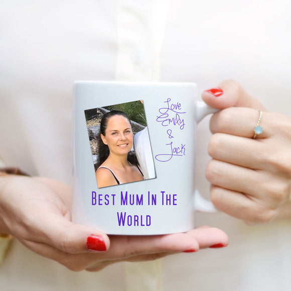 Mother's Day Mug - Best Mum - Fizzy Strawberry Gifts