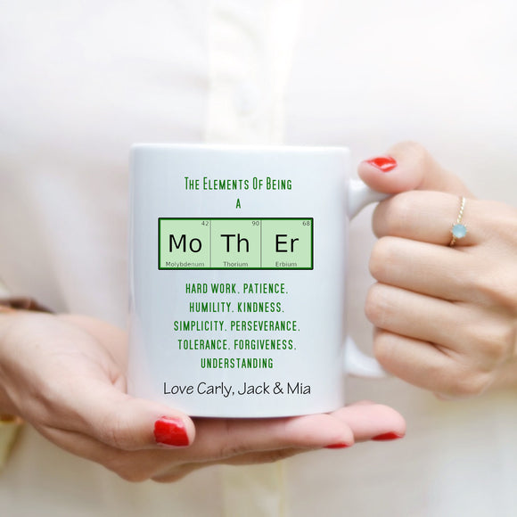 Mother's Day Mug - Elements - Fizzy Strawberry Gifts