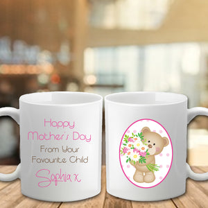 Mother's Day Mug - Favourite Child - Fizzy Strawberry Gifts