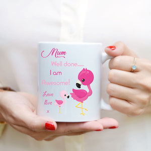 Mother's Day Mug - I Am Awesome - Fizzy Strawberry Gifts