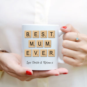 Mother's Day Mug - Scrabble Mum - Fizzy Strawberry Gifts