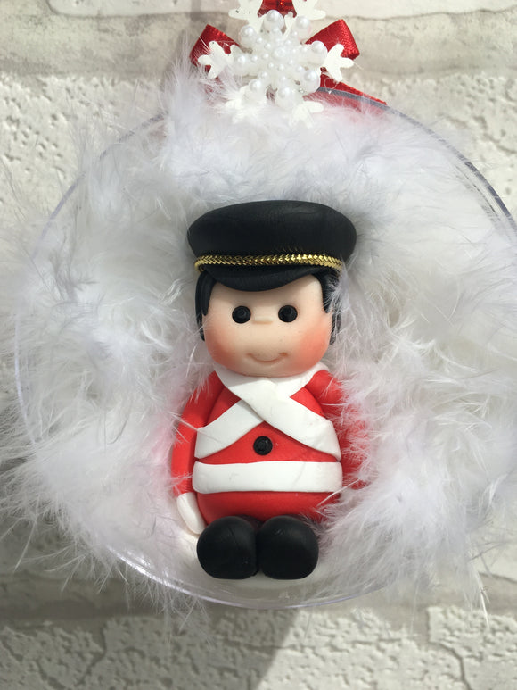 Soldier Christmas Bauble - Fizzy Strawberry Gifts