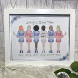 Personalised Thank you Bridesmaid Bride Tribe Frame