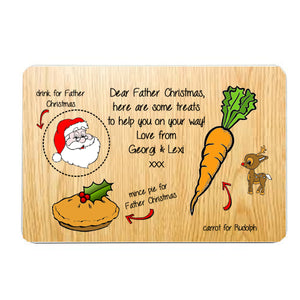 Personalised Christmas Eve Placemat - Fizzy Strawberry Gifts