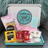 Personalised Letterbox Gift - Grab A Brew And Relax