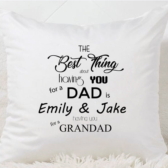 Grandad Cushion (The Best Thing)