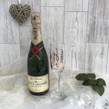 Personalised Champagne Glass - Party Gifts