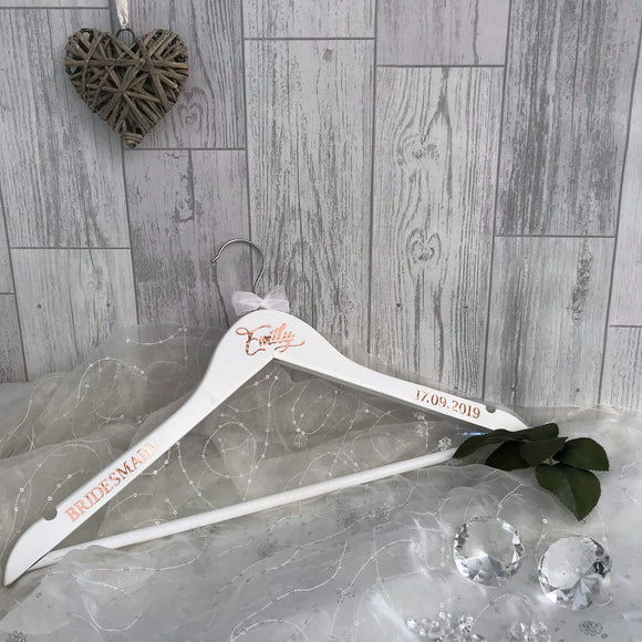 Personalised Wedding Coat Hanger - Bridal Party