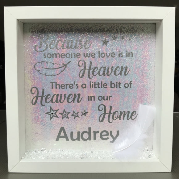 Little Piece Of Heaven Frame - Fizzy Strawberry Gifts