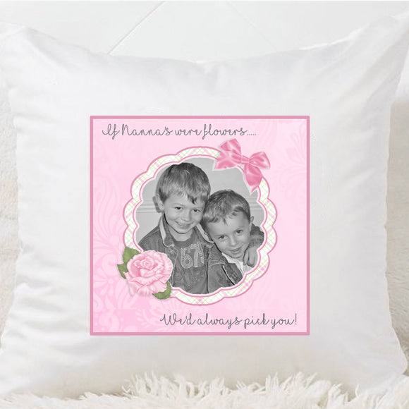 If Nannas Or Mums Were Flowers Cushion - Fizzy Strawberry Gifts